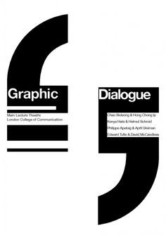 Typographic Hierarchy: Graphic Dialogue Poster | Econo-socio-legal Typography Layout, Typography Quotes, Typography Poster, Graphic Design Typography, Hierarchy Design, Typographic Hierarchy, Philippe Apeloig, Mind Map Art, Dialogue Bubble