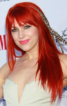 Red Hair Colours & Hairstyles in 2015 are the most creative looks; Red Hair Colours & Hairstyles are new black since summer is almost here Red Hair Colours Bright Red Hair, Bright Hair Colors, Red Hair Color, Hair Colours, Cherry Red Hair, Strawberry Blonde Hair, Pretty Hairstyles, Easy Hairstyles, Medium Red Hair