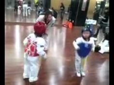 If a viral video hits the Internet and millions of people have not yet watched it, is it still a viral video? How can these cute karate-kicking toddlers not make it big with their strangely intense, undeniably adorable fight to the death.
