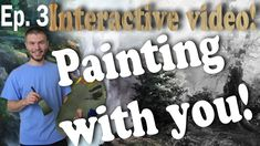 Be part of an exciting painting process! In Episode 3, we learn how to paint a fast, rushing river to fill in part of the foreground of the painting. Adding interesting elements to your art work can add a lot of depth and detail to your paintings. To vote for how you would like to see the painting continue, visit: www.paintwithkevin.com
