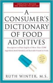 A consumer's dictionary of #food additives