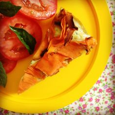 spinach & ricotta pie