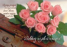 Happy Brithday, Name Day, Diy Cards, Greeting Cards, Rose, Birthday, Party, Flowers, Creative