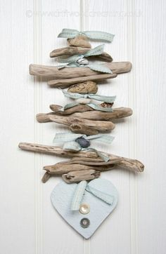 Easy Driftwood Door Garland !