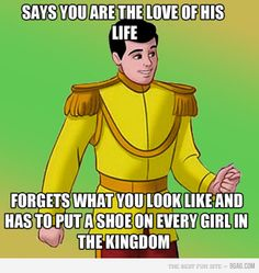 "Prince ""Charming"" had one too many, I think..."