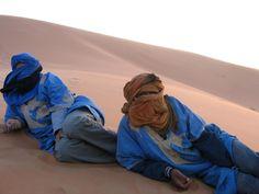 Morocco, Sahara Desert people