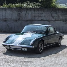 1971 Lotus Elan +2 130/s for sale at Samuel Laurence. British Racing Green, Great history and mechanics. Unmodified original that drives exceptionally well.