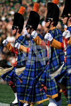 The Irish Guard marches