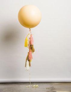 """Peach Melba Balloon"" by unelefante.mx #bigballoons #balloons #gifts"