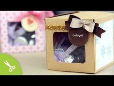 Cubebox: Cajita para detalle o regalo · [navidad] - YouTube