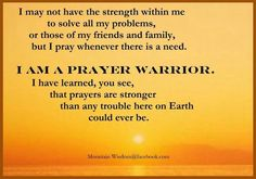 40+ Prayer Warriors ideas | prayer warrior, prayers, warrior