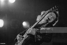 Guitarist Paul Kossoff (1950 - 1976) performing with English rock group Free, at Fairfield Halls, Croydon, London, 12th September 1972.