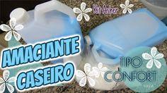 AMACIANTE CASEIRO SUPER CONSISTENTE TIPO CONFORT (KIT ASHER)