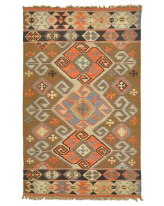 """Aztec"" Hand-Woven Rug is on Rue. Shop it now."