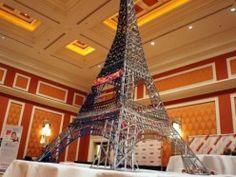 3Doodler used to make Eifffel tower