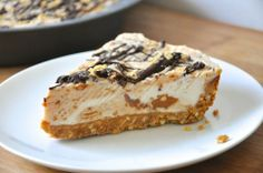 Easy Nutter Butter Peanut Butter Ice Cream Pie Really nice...