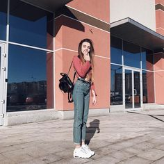 Sasha Chistova  #inspiration #fashion #street #girl #beauty #clothes #sashachistova