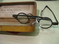 President John Adams Glasses - OSV Collection/Diane Matuck photo