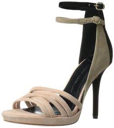 10 Crosby Women's Jules Dress Sandal,Blush/Black,10 M US - The price dropped 34% #frugal #savingmoney