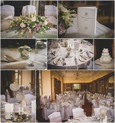 Pretty Green and prink wedding colours, tables. by Lucy G Photography