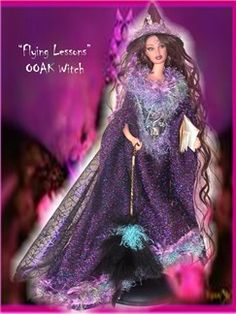 Gothic Barbie Dolls, Halloween Barbie dolls, OOAK Gothic Dolls, One of a Kind Halloween Barbies