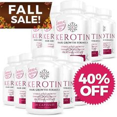 Thicker Hair Get Longer, Stronger Hair with a 6 Month Supply Bottles) of Kerotin Hair Growth Formula. Try Kerotin Hassle-Free through our Money-Back Guarantee. Coconut Oil Hair Treatment, Coconut Oil Hair Growth, Grow Hair Back, Hair Growth Pills, Vitamins For Hair Growth, Hair Growth Treatment, Hair Regrowth, Keratin, Hair Loss