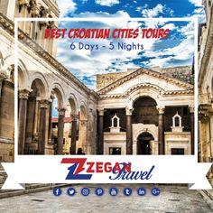 Best Croatia City Tours (6 Days - 5 Nights)  * Zagreb-Zadar-Split-Dubrovnik  *Airport Transfers  *Guided Daily Tours   Contact us now info@zegantravel.com  http://www.zegantravel.com/Best-Croatia-City-Tours  #europe #europetour #europetravel #balkan #balkantour #balkantravel #croatia #croatiatour #zagreb #zadar #split #dubrovnik