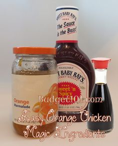 Easy Orange Chicken   Dump Recipes - Budget101.com