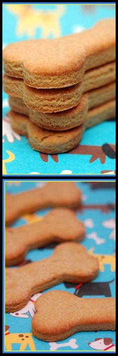 Snickerdoodle & Peanut Butter Dog Biscuits