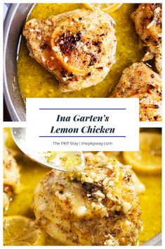 Lemon Chicken Recipes Ina Garten is One Of the Favorite Chicken Of Numerous People Round the World. Besides Easy to Create and Excellent Taste, This Lemon Chicken Recipes Ina Garten Also Healthy Indeed. Barefoot Contessa, Chicken Thigh Recipes, Baked Chicken Recipes, Lemon Recipes, Curry Recipes, Summer Recipes, Ina Garten Lemon Chicken, Best Ina Garten Recipes, Lemon Chicken Thighs