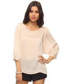 Romantic Sleeve Blouse from Forever 21