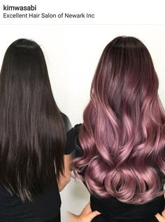 Artistic Team Member Kim Ketcham Tiffany found her ! Pre lightened with guy tang… Artistic Team Member Kim Ketcham Tiffany found her ! Pre lightened with guy tang luxyhair Cabelo Rose Gold, Luxy Hair, Lilac Hair, Dusty Rose Hair, Rose Gold Hair Brunette, Ombre Hair Lavender, Blonde Hair, Cool Hair Color, Hair Colors
