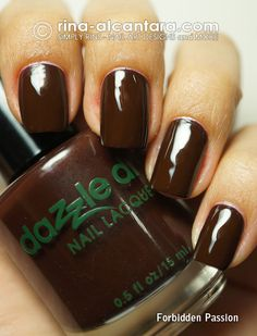 """Dazzle Dry Forbidden Passion-""""Nightlife Collection"""" (Winter 2012)"""