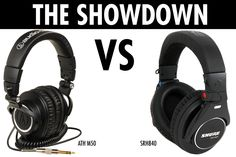 Shure SRH 840 vs. ATH M50 | A LITTLE DIFFERENT!