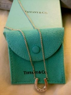 Tiffany & Co. Horseshoe , Sterling Silver Jewelry $93 - If I were to ever get a Tiffany piece, this would be my piece...  It represents a lot to this girl~