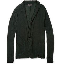 Kolor Lightweight Wool-Blend Cardigan | MR PORTER