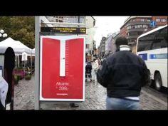 Afin de promouvoir ses destinations ensoleillées, la compagnie aérienne Norwegian et son agence Kitchen ont mis en place un affichage spécial. Leurs idée, bien rappeler au norvégiens que le mois d'octobre est le plus pluvieux de l'année dans leur pays, et qu'il est donc le mois parfait pour s'offrir quelques vacances dans un pays chaud et ensoleillé. Pour ce faire, ils ont transformé un abribus en pluviomètre géant, informant ainsi quotidiennement aux habitants d'Oslo de la quantité d'eau…