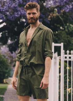Sheehan & Co. Summer Jumpsuit.  Stay cool and stylish.   https://sheehanandcompany.com/collections/onesies-jumpsuits