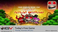 Chop Chop Ninja Free iPhone Game Of The Day (November 29 - 2012)| Today's Free Games, Promotional Offers | iPhone iPod Touch iPad Game News, Review and Updates