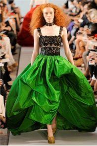 green taffeta