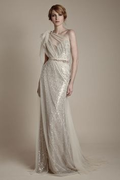 gasp. 25 art deco wedding gowns. forget that, i'd wear this anywhere. everywhere.