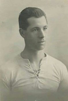Ted Vizard of Bolton Wanderers & Wales in 1924.