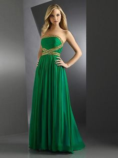 Not sure what you think about the gold but this is really pretty and cheap for a long dress!