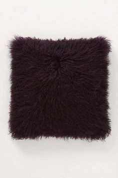 Anthropologie - Luxe Fur Pillow