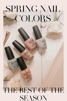 OPI's collection. Pastel, soft, sheer colors perfect for the spring time! Very neutral and minimalistic style. perfect for people who want color but not something too bright. #beauty #opi #nails #nailpolish #springnails #beautyblog #beautyblogger #selfcare #neutralcolors #neutrals #opipolish #opispring