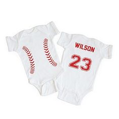 Baseball Onesie, Baby Boy Baseball, Boy Onesie, Onesies, Baseball Stuff, Baseball Jerseys, Baby Boy Outfits, Sport Outfits, Unique Gifts For Kids
