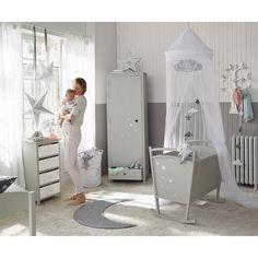 Une chambre pour bébé. http://www.m-habitat.fr/par-pieces/chambre/amenager-une-chambre-pour-bebe-2623_A