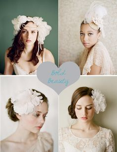 Standout wedding hair accessories and headpieces by Twigs & Honey #weddings #weddinghair