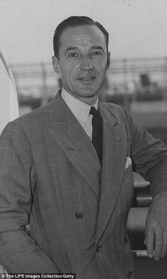 Historic property: The 63 acre estate was completed in 1925 for auto-engineering visionary Edsel Ford (pictured 1938)