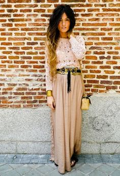 I'm obsessed with maxi skirts for spring. I want lots and lots of them.
